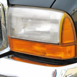 Full service auto detailing can include headlight defogging.