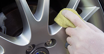 Get an awesome full service car detail, including wheel and rims.