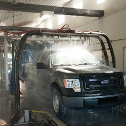 Express car wash for vehicles in Fort Collins.