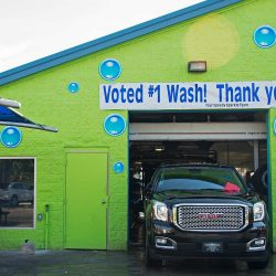 Speedy Sparkle Car Wash finishing auto detailing.