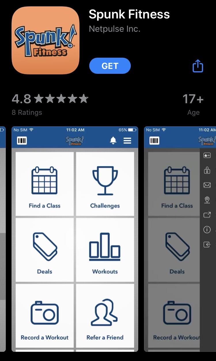 Spunk Fitness App
