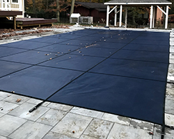 Pool saftey cover from S&R Pools.