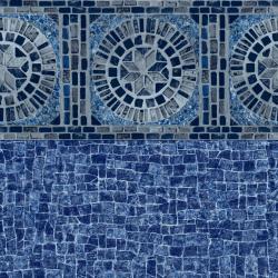 Anchor Bay Tile liner pattern with Miramar Bottom
