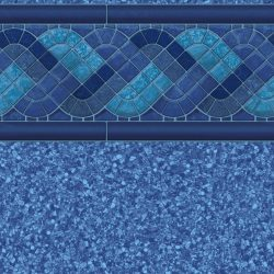 Blue Trinidad Tile Jamaica Bottom
