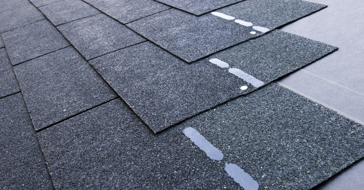 Asphalt shingles from S&S Roofing