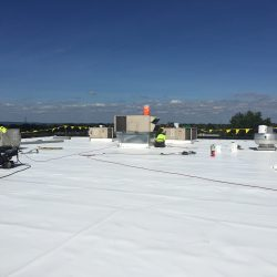 Sealing the roof before installation by S&S Roofing