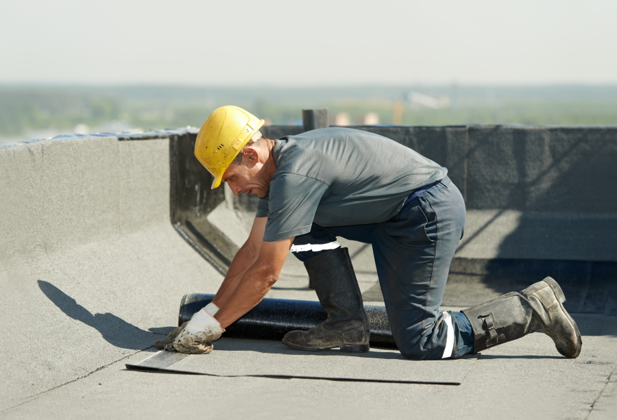 Hard at work at S&S Roofing
