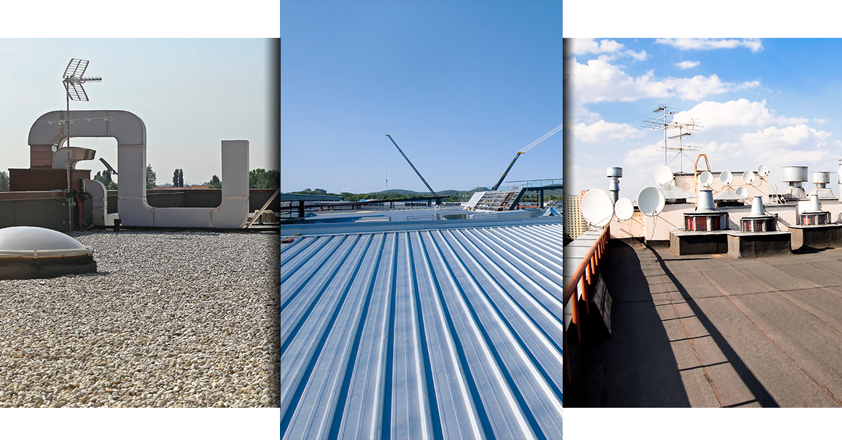 Industrial and Commercial roofs are our specialty