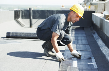 Flat Roof Replacement from S&S Roofing