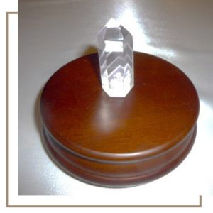 crystal stand