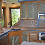 Prepping a kitchen for custom cabinets - St Croix Cabinet Solutions