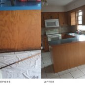 Before and After Kitchen Countertops Remodeling