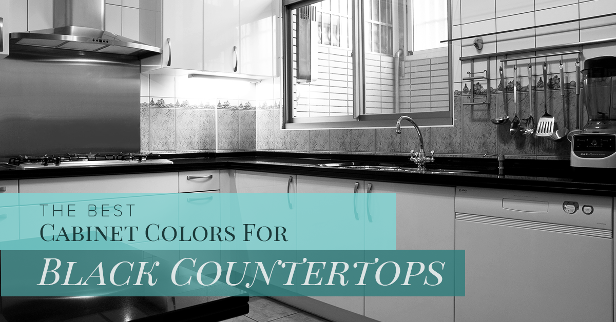 Cabinet Refacing Hudson The Best Cabinet Colors For Black Countertops