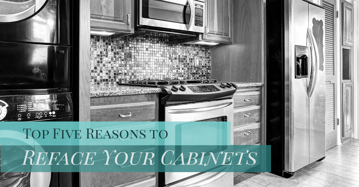 Cabinet Refacing Hudson: Top Five Reasons to Reface Your Cabinets
