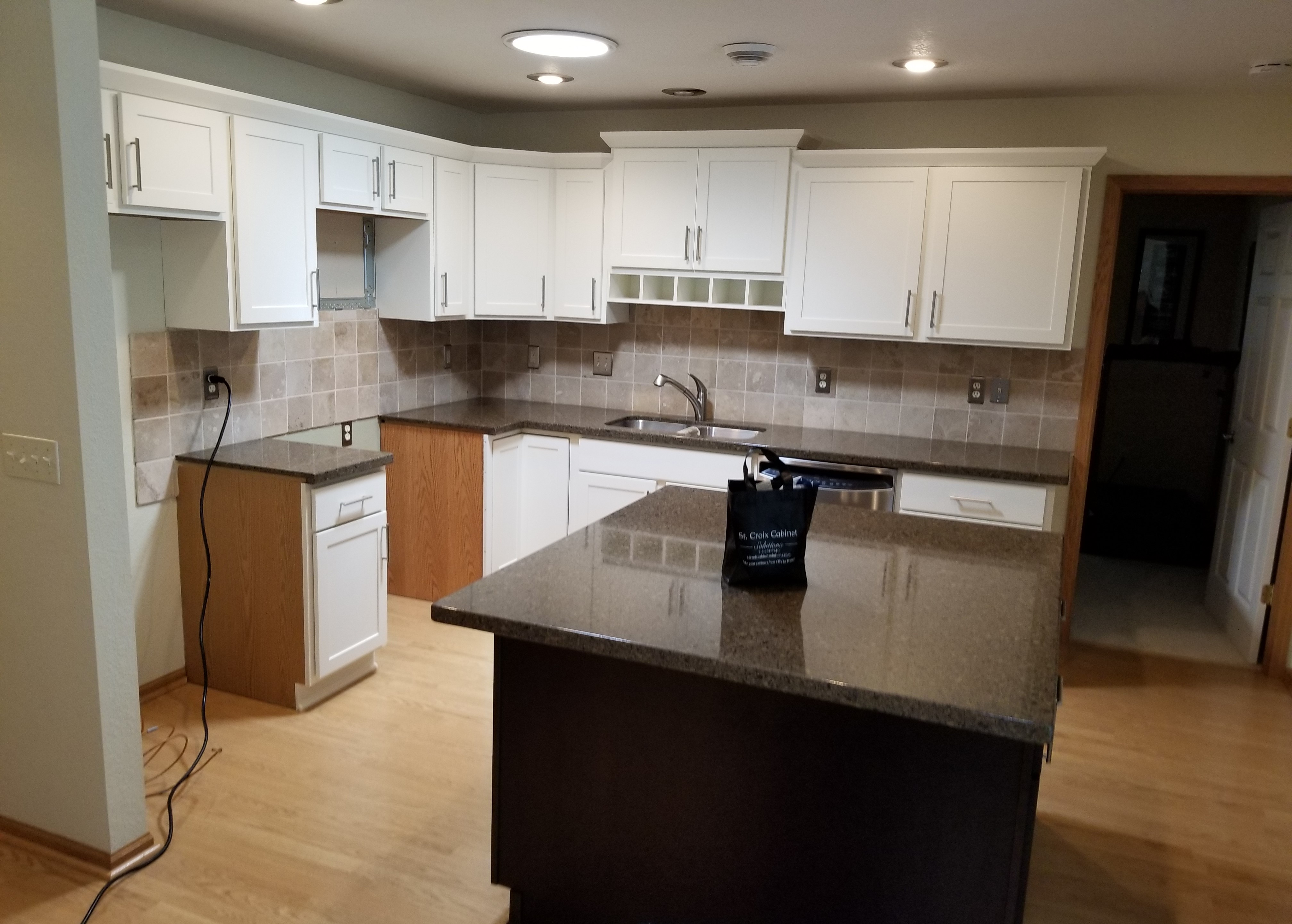 Image of: Cabinet Refacing Woodbury See Before And After Photos St Croix Cabinet Solutions