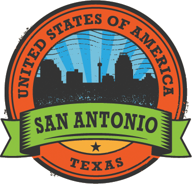 San Antonio badge