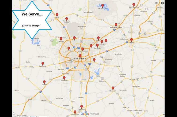 San Antonio, New Braunfles, Cibolo, Helotes, & More!