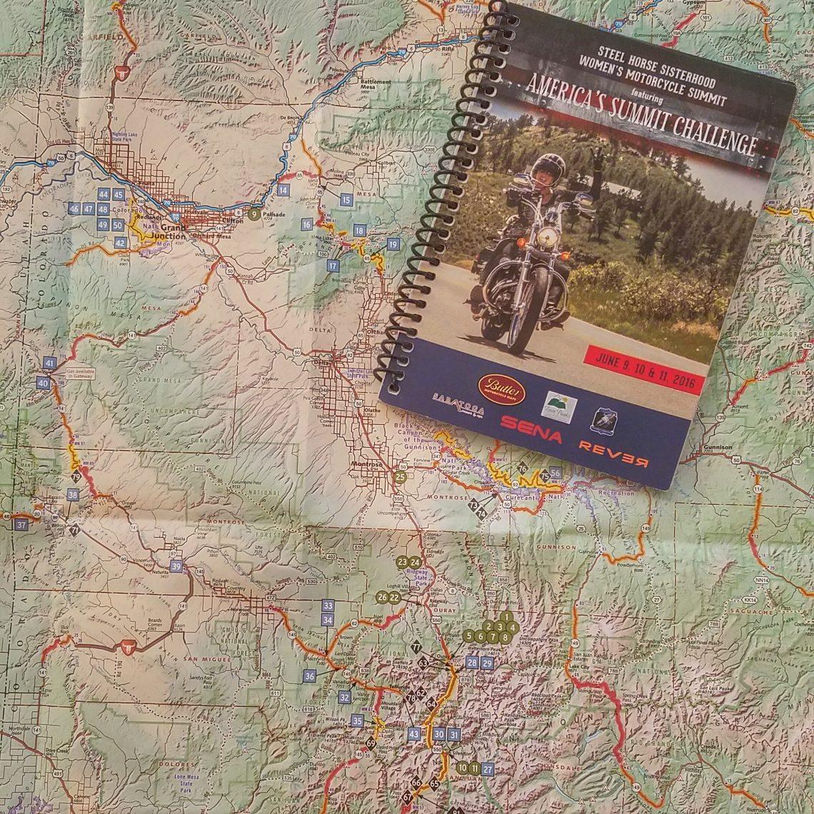 America's Moto Rally Butler Maps & Clue Book