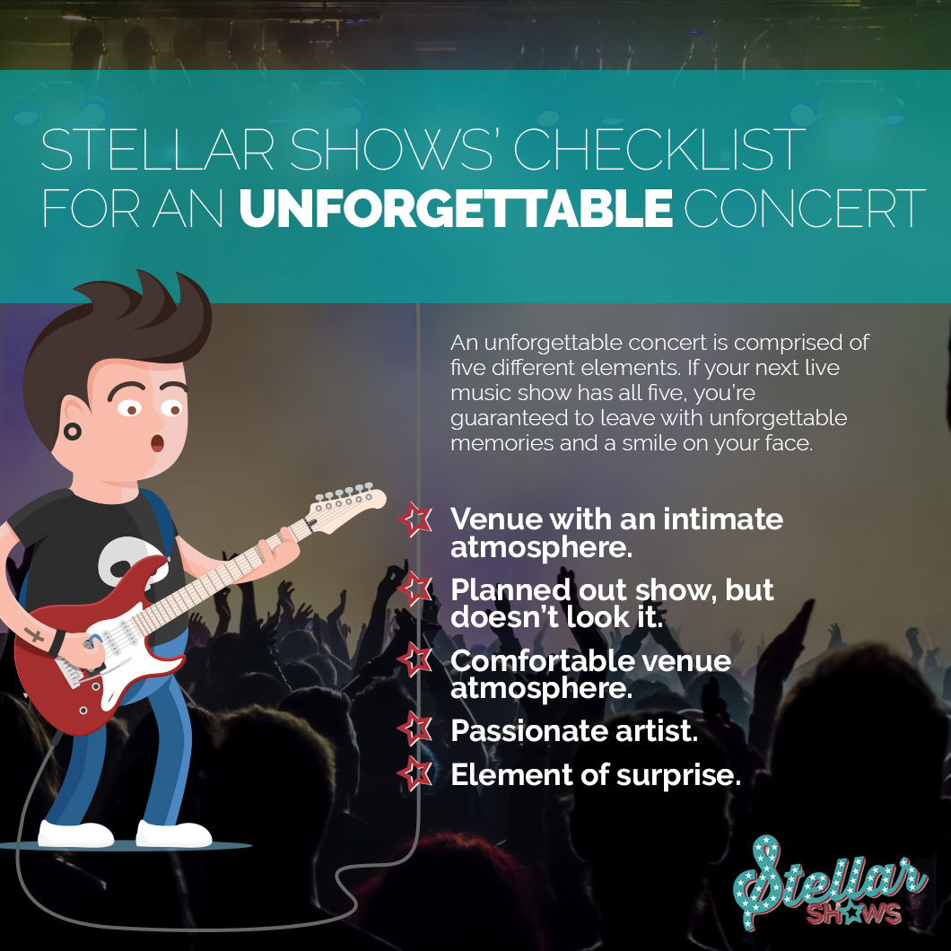 Concerts - What Makes A Good Concert? | Stellar Shows