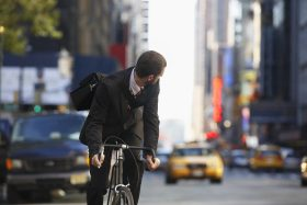 Increase in bike commuting means greater need to share the road