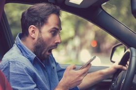 Drivers could be addicted to texting behind the wheel