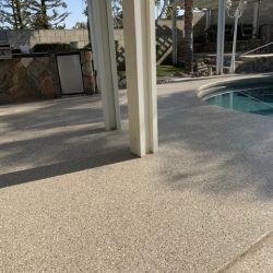 Patio Concrete Coating
