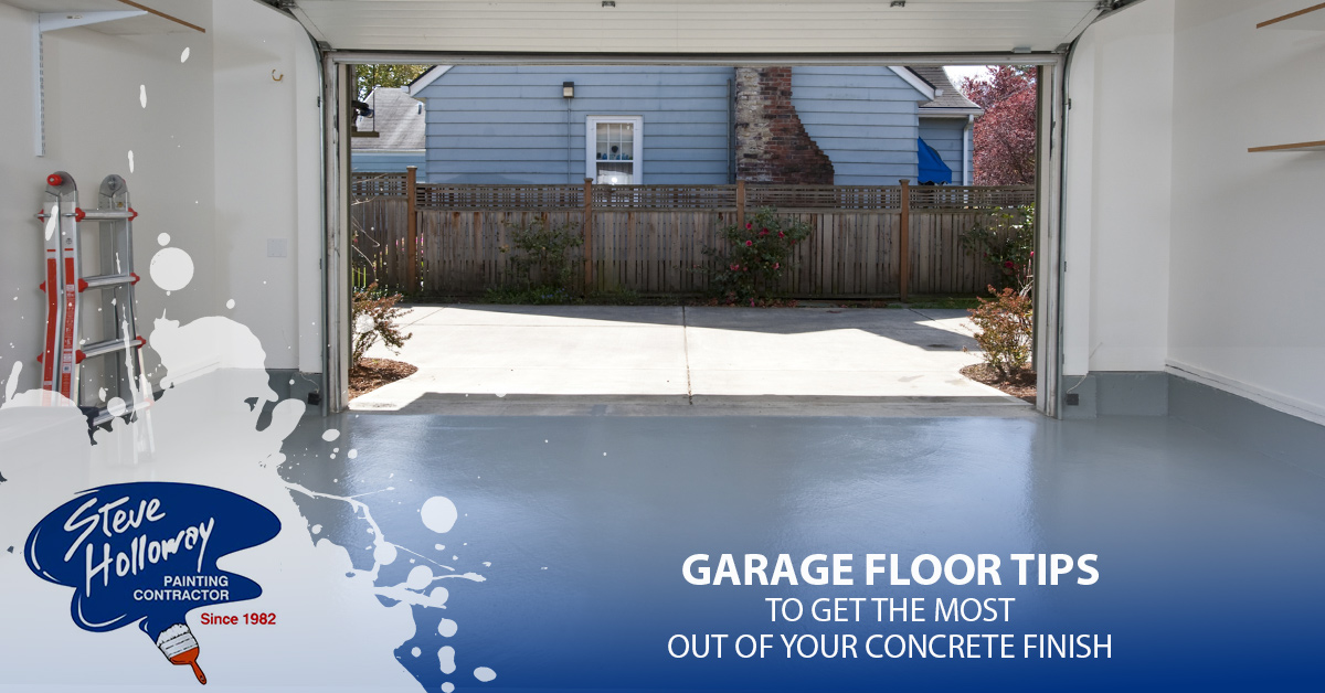 Garage Floor Tips To Get The Most Out Of Your Concrete Finish