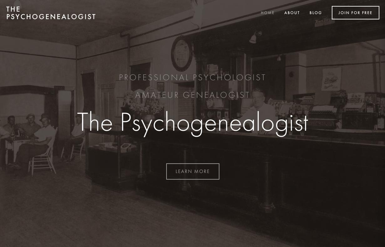 The Psychogenealogist