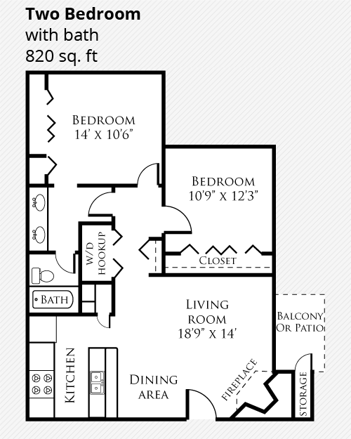 One & Two Bedroom Apartments Fort Collins