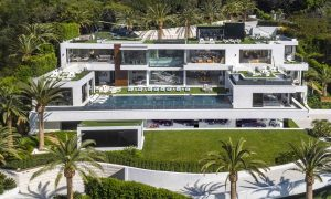 Mega American Summer Homes - Bel Air Contemporary