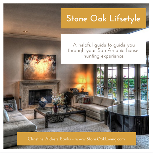 "Do you want to live the Stone Oak lifestyle? When you do your San Antonio house-hunting, make sure you bring a notepad and pen to take notes on each property you see, your smartphone (for pictures), measurements of large furniture you currently own, wear comfortable shoes, and make a list of absolute ""must haves""."