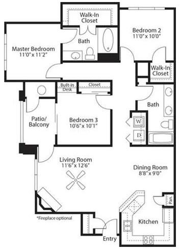 Our Floor Plans - View Floor Plans For Our Broomfield ...