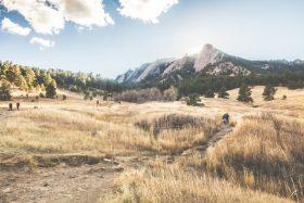 Mountain in Boulder Colorado