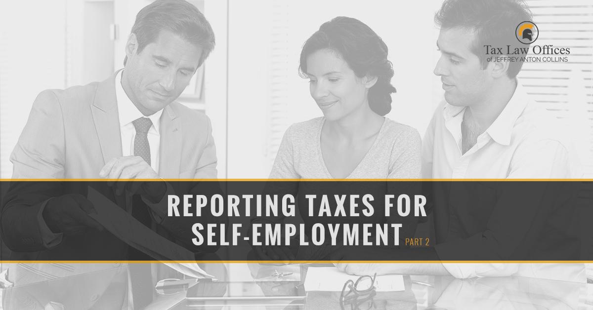 Irs Tax Attorney Naperville Self Employment Part 2