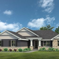 Lake County Home Builders Denham Elevation