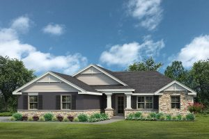 Lake County Home Builders Kennedy Elevation