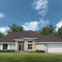 Lake County Home Builders Willow Elevation