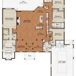 lake county home builders Avery Floorplan
