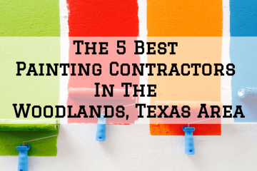 best painting contractors in the woodlands