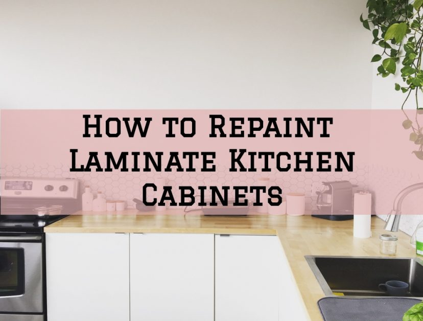 How To Repaint Laminate Kitchen Cabinets In The Woodlands Texas Area Streamline Painting More Llc