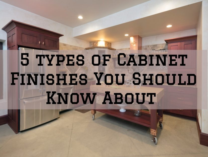 5 types of Cabinet Finishes You Should Know About ...