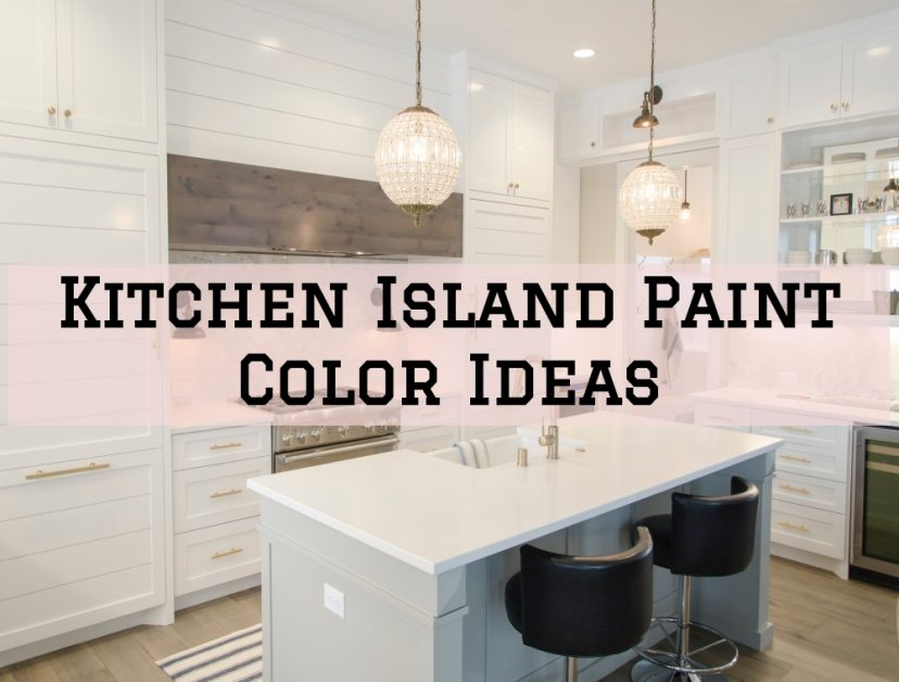 Kitchen Island Paint Color Ideas in the Woodlands, Texas