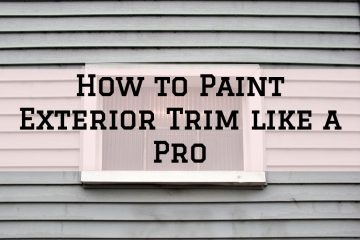 exterior trip paint