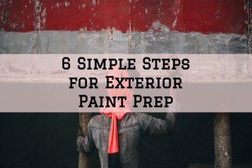 exterior preparation