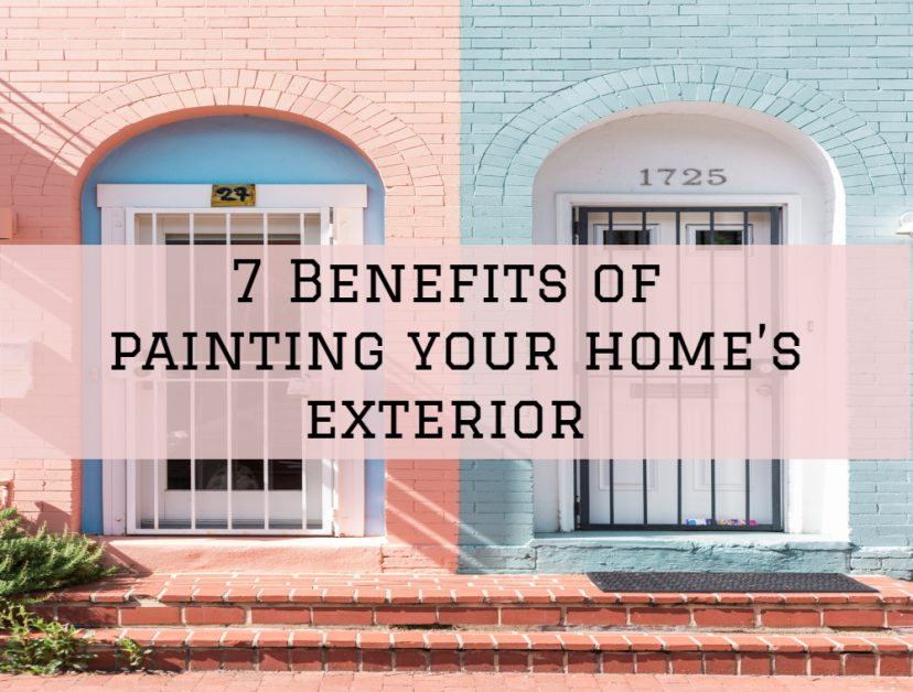 benefits of exterior painting