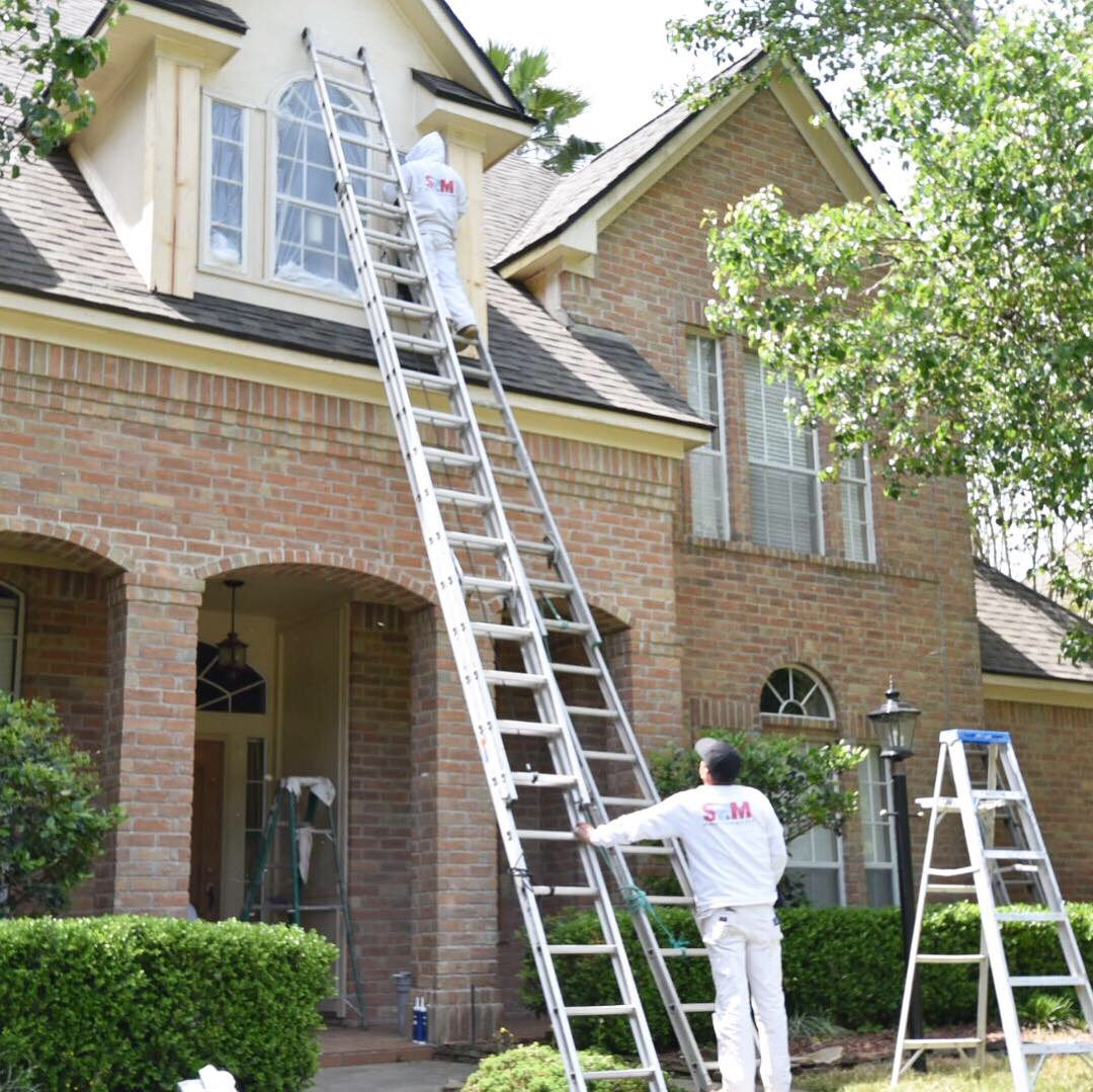 Residential Exterior Services: Residential Exterior Painting Services In The Woodlands