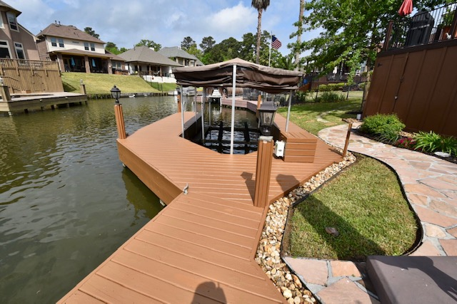 Exterior Boat Dock And Deck Services In Lake Conroe