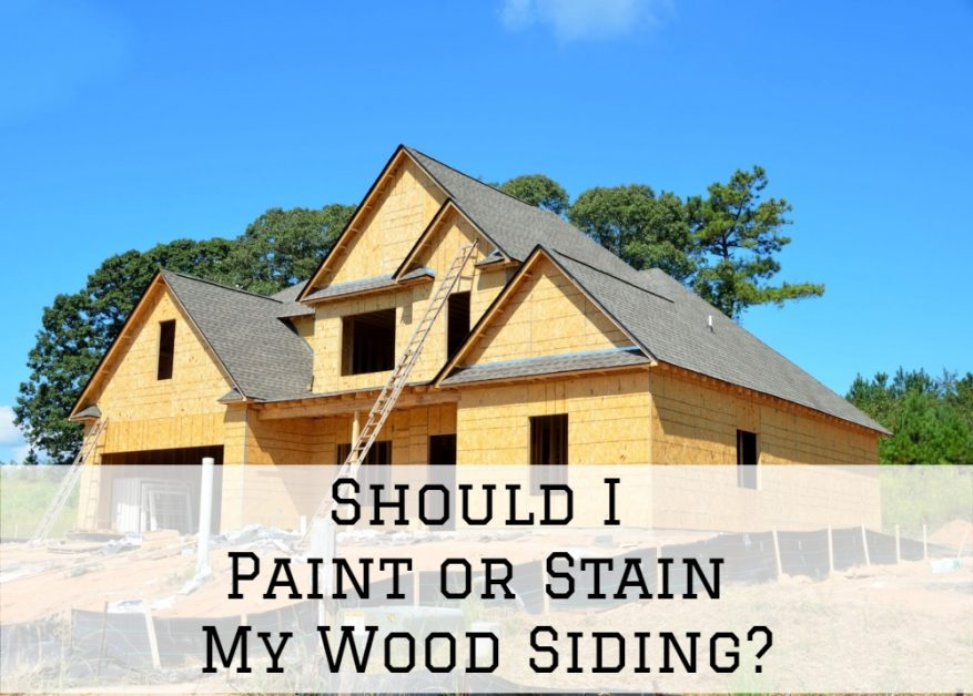 exterior painting, exterior staining