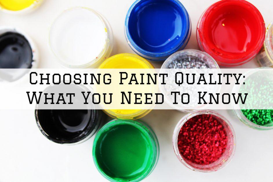 paint quality