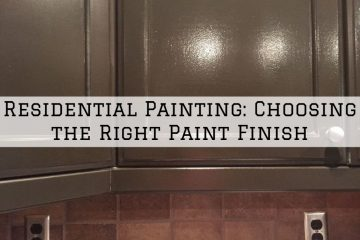Residential Painting Conroe, Texas: Choosing the Right Paint Finish